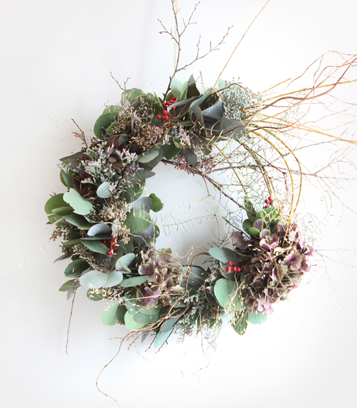 about time wreath